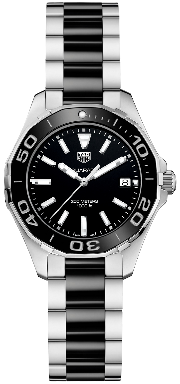 Tag Heuer Aquaracer 35mm Black Dial Women's Watch WAY131A.BA0913