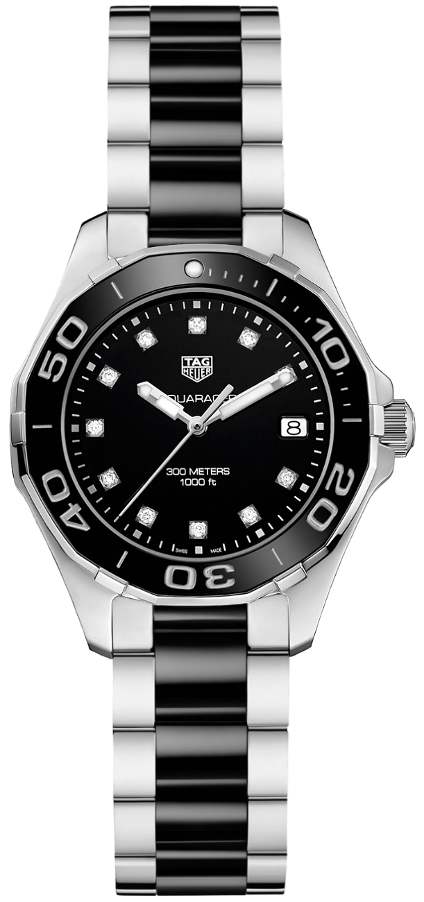 Tag Heuer Aquaracer Diamond Dial Women's Watch WAY131C.BA0913