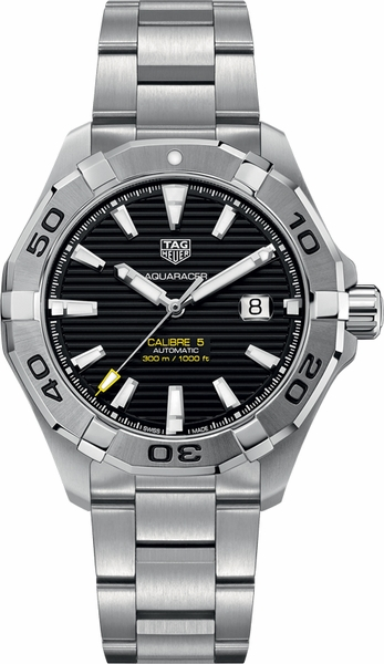Tag Heuer Aquaracer 300M Calibre 5 New Men's Watch WAY2010.BA0927