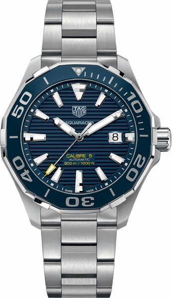 Tag Heuer Aquaracer Blue Dial 300M Authentic Men's Watch WAY201B.BA0927