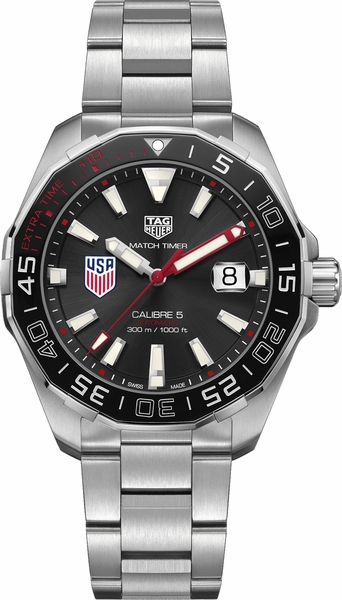 Tag Heuer Aquaracer US Soccer Special Edition Men's Watch WAY201G.BA0927