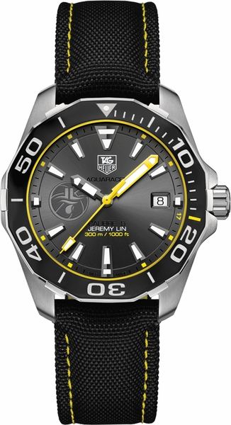 Tag Heuer Aquaracer Jeremy Lin Limited Edition Men's Watch WAY211F.FC6362