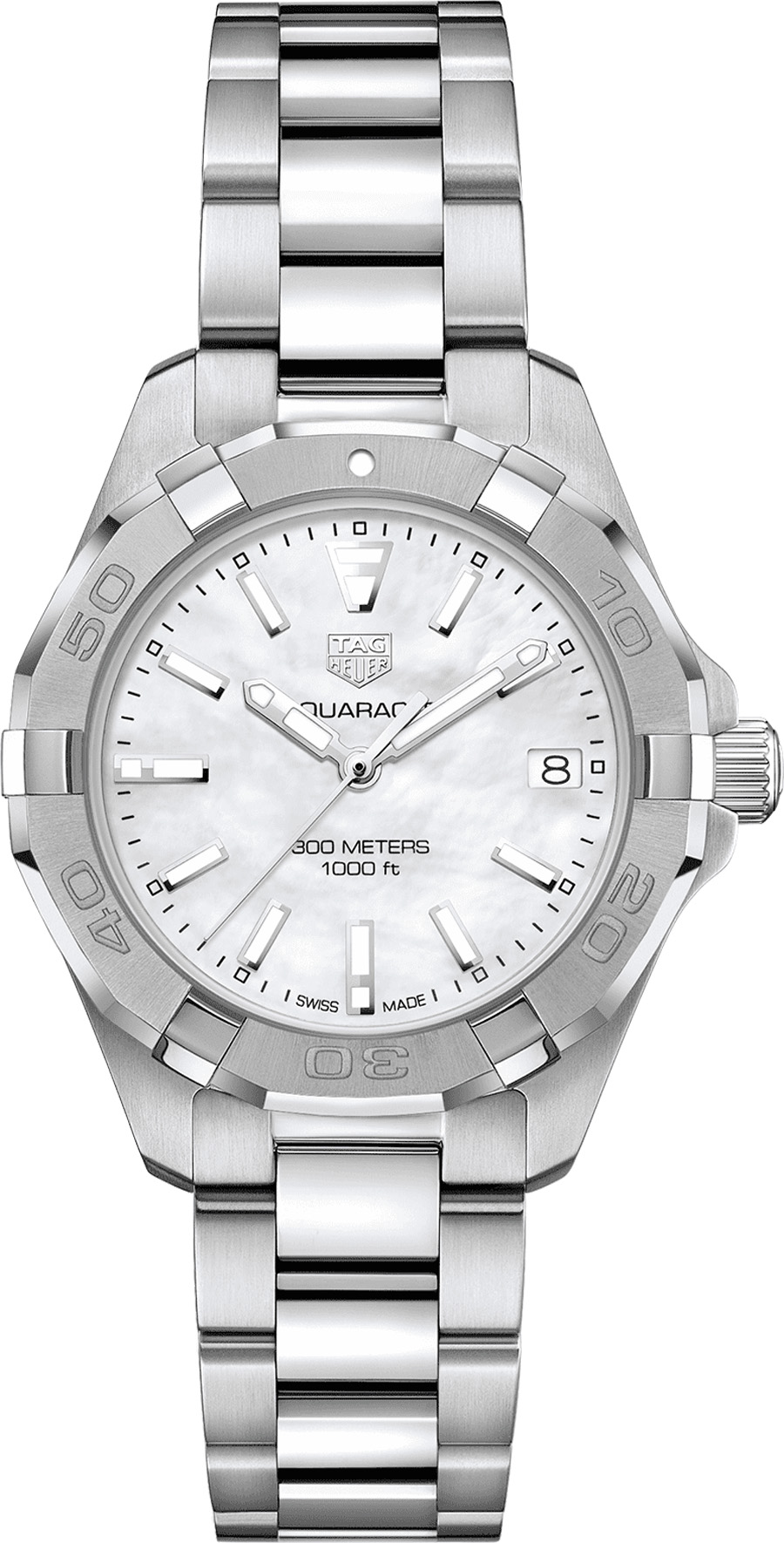 Tag Heuer Aquaracer 32mm Steel Women's Watch WBD1311.BA0740