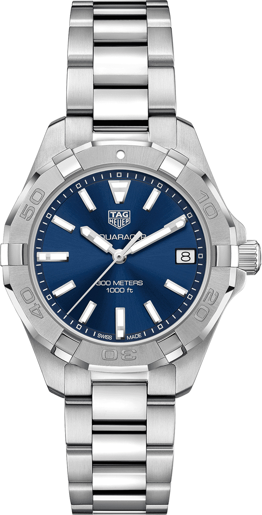 Tag Heuer Aquaracer Blue Dial Women's Watch WBD1312.BA0740