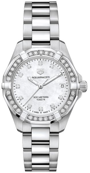 Tag Heuer Aquaracer Diamonds Women's Luxury Watch Sale WBD1315.BA0740