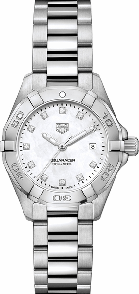 Tag Heuer Aquaracer 27mm Diamond Women's Watch WBD1414.BA0741