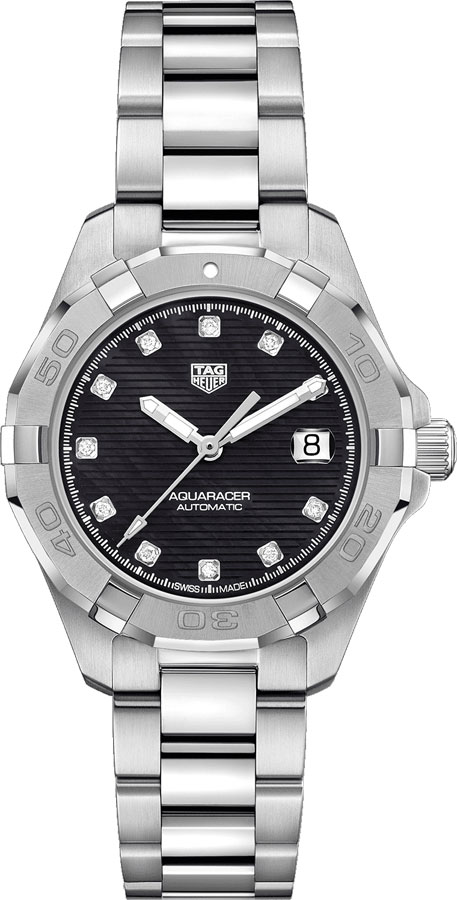 Wbd2312 ba0740 tag heuer aquaracer women 39 s diving watch for Tag heuer divers watch
