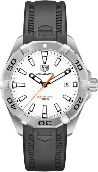 Tag Heuer Aquaracer White Dial Men's Watch WBD1111.FT8021