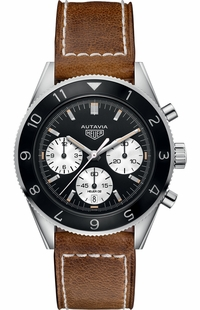 Tag Heuer Autavia Chronograph Caliber Heuer Men's Watch CBE2110.FC8226