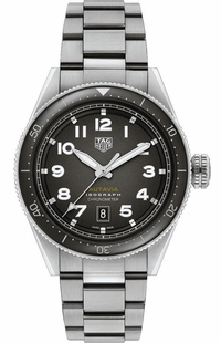 Tag Heuer Autavia Isograph Black Dial Men's Watch WBE5110.EB0173