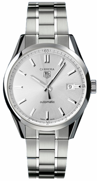 Tag Heuer Carrera Calibre 5 Steel Men's Luxury Watch WV211W.BA0787