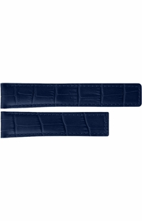Tag Heuer Carrera 19mm Blue Leather Strap FC6293