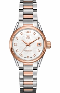Tag Heuer Carrera 28mm Diamond Women's Watch WAR2452.BD0777