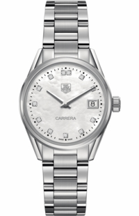 Tag Heuer Carrera 32mm Diamond Women's Watch WAR1314.BA0778