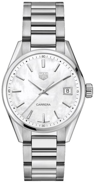 Tag Heuer Carrera Quartz 36mm Women's Steel Watch WBK1311.BA0652