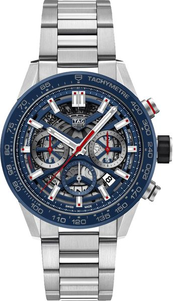 Tag Heuer Carrera Automatic Chronograph 43mm Men's Watch CBG2011.BA0662