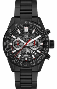 Tag Heuer Carrera Black Skeleton Dial Men's Watch CBG2A90.BH0653