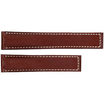 Tag Heuer Carrera 19mm Brown Leather Strap FC6203