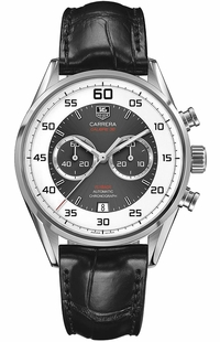 Tag Heuer Carrera Calibre 36 Grey & Silver Dial Men's Watch CAR2B11.FC6235