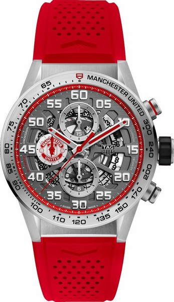 Tag Heuer Carrera Manchester United Special Men's Watch CAR201M.FT6156