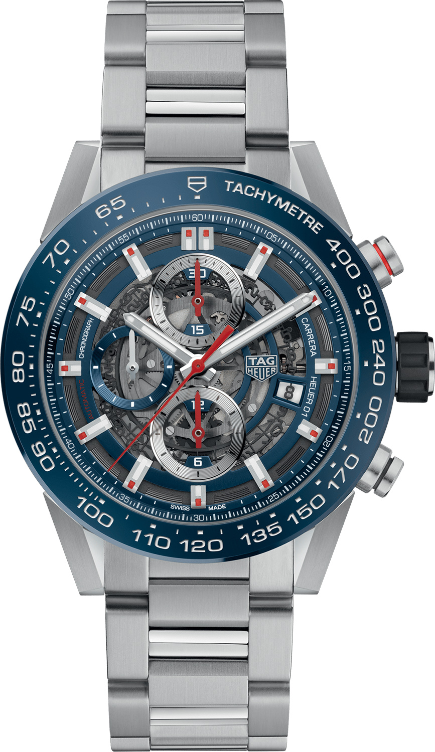 348da757bf075 CAR201T.BA0766 TAG Heuer Carrera Blue Dial Men s Watch