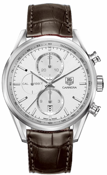 Tag Heuer Carrera Silver Dial Swiss Made Men's Watch CAR2111.FC6291