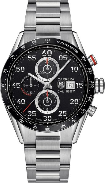 Tag Heuer Carrera Calibre 1887 Men's Luxury Watch CAR2A10.BA0799