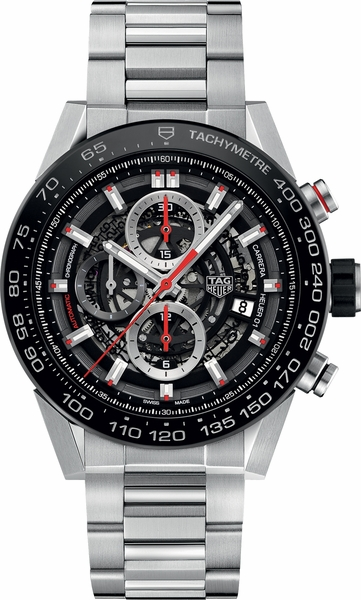 Tag Heuer Carrera Black Dial Watches Online Men's Watch CAR2A1W.BA0703