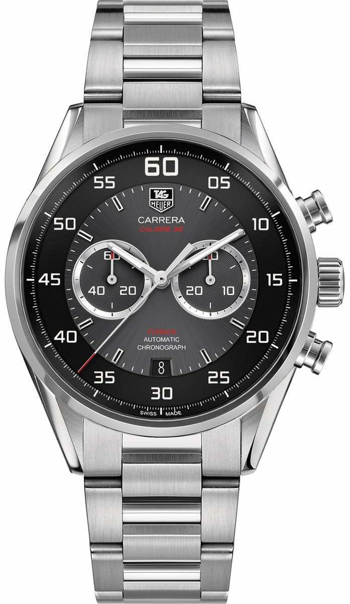 car2b10 ba0799 tag heuer carrera calibre 36 automatic chronograph mens watch