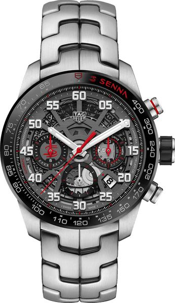 Tag Heuer Carrera Senna Special Edition Men's Sport Watch CBG2013.BA0657
