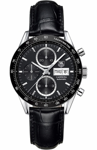 Tag Heuer Carrera Chronograph Day Date Men's Watch CV201AG.FC6266