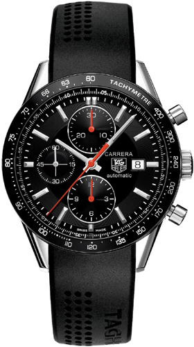 Tag Heuer Carrera Chronograph Black Dial Men's Watch CV2014.FT6014
