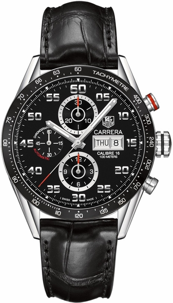 Tag Heuer Carrera Chronograph Day-Date Men's Watch CV2A1R.FC6235