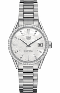 Tag Heuer Carrera Diamond Bezel Ladies Watch WAR1315.BA0778