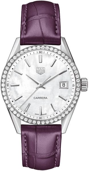 TAG Heuer Carrera Quartz Women's Diamond Watch WBK1316.FC8261