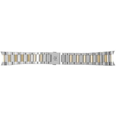 Tag Heuer Carrera 21mm Inlet Stainless Steel & Yellow Gold OEM Watch Bracelet BD0903