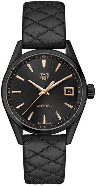 TAG Heuer Carrera Quartz Women's Black Watch WBK1310.FC8257