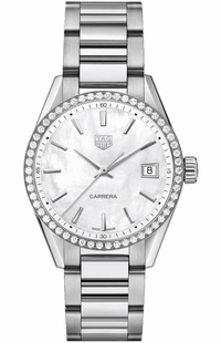 TAG Heuer Carrera Quartz Women's Diamond Watch WBK1316.BA0652