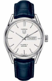 Tag Heuer Carrera Silver Dial Automatic Men's Watch WAR201B.FC6292