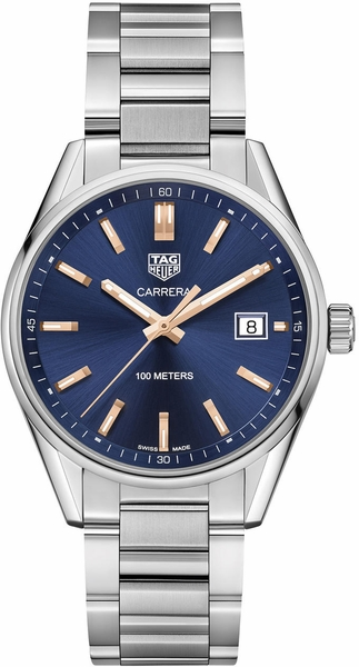 Tag Heuer Carrera Blue Dial Women's Luxury Watch WAR1112.BA0601