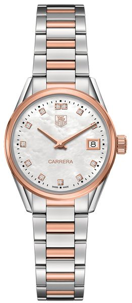 Tag Heuer Carrera Diamond Ladies Watch WAR1352.BD0774