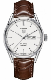 Tag Heuer Carrera Automatic Silver Dial Men's Watch WAR201B.FC6291