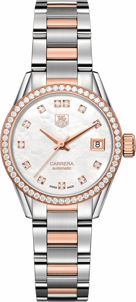 Tag Heuer Carrera Diamond Women's Watch WAR2453.BD0777