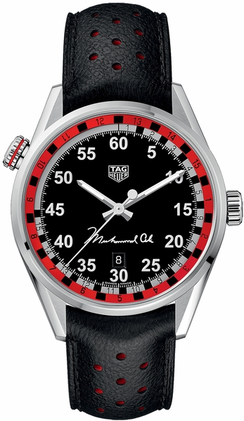 Tag Heuer Carrera Special Edition Tribute to Muhammad Ali Men's Sport Watch WAR2A11.FC6337