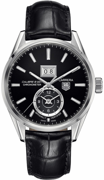 Tag Heuer Carrera Calibre 8 GMT Men's Luxury Watch WAR5010.FC6266