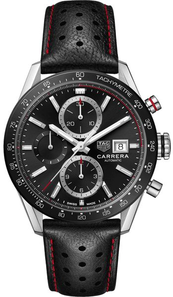 Tag Heuer Carrera Calibre 16 Men's Black Watch CBM2110.FC6454