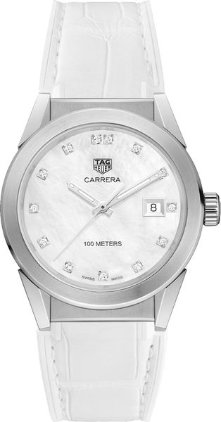 Tag Heuer Carrera Diamond Dial Women's Watch WBG1312.FC6412