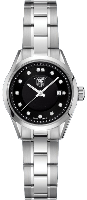Tag Heuer Carrera 27mm Diamond Dial Women's Watch WV1410.BA0793