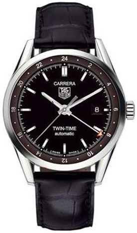 Tag Heuer Carrera Twin Time Automatic Men's Watch WV2115.FC6180