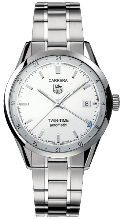 Tag Heuer Carrera Silver Dial Luxury Men's Watch WV2116.BA0787